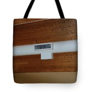 White Pipe Tote Bag