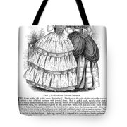 Womens Fashion, 1851 Tote Bag by Granger