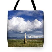 Wooden Post Tote Bag