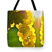 Yellow Grapes Tote Bag