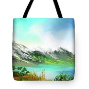 30 Minute Landscape Tote Bag