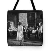 Silent Still: Man & Woman Tote Bag