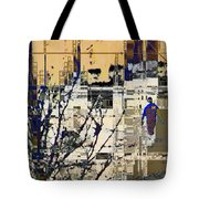 3011 - All Dissolving Into Computer Chips Tote Bag