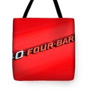 340 Four Barrel Tote Bag