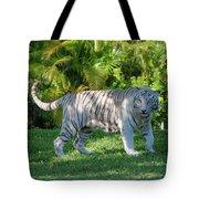 35- White Bengal Tiger Tote Bag