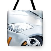 350z Car Front Close-up  Tote Bag