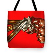 357 Magnum - Painterly - Red Tote Bag
