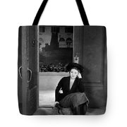 Silent Film Still: Woman Tote Bag