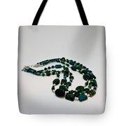 3609 Australian Jasper Triple Strand Necklace Tote Bag
