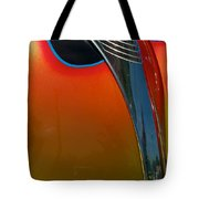 39 Ford Deluxe Hot Rod Hood Ornament  Tote Bag