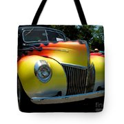39 Ford Deluxe Hot Rod Tote Bag