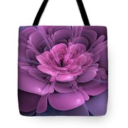 3d Flower Tote Bag by John Edwards
