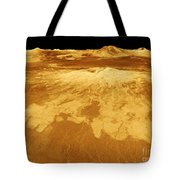 3d Perspective View Of Sapas Mons Tote Bag