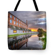 3m Building Sunrise Tote Bag