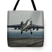 An Ea-6b Prowler Launches Tote Bag