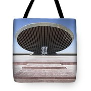 Baghdad, Iraq - A Great Dome Sits At 12 Tote Bag