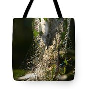 Bird-cherry Ermine Caterpillars Tote Bag