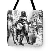 Civil War: Cartoon, 1861 Tote Bag
