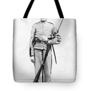 Civil War Soldier Tote Bag