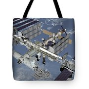 Computer Generated View Tote Bag