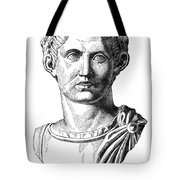 Constantine I (d. 337) Tote Bag by Granger