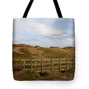 Cornish Seascape Holywell Bay Tote Bag