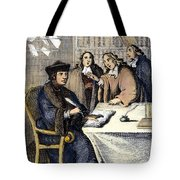 Desiderius Erasmus Tote Bag