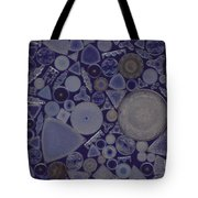 Diatoms Tote Bag by M. I. Walker