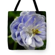 Double Columbine Named Light Blue Tote Bag