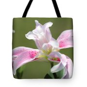 Double Oriental Lily Named Magic Star Tote Bag