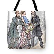 Election Cartoon, 1876 Tote Bag