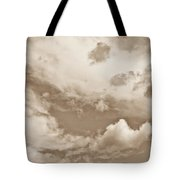 English Summer Sky Tote Bag