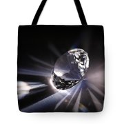 Faceted Quartz Gem Tote Bag