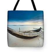 Fisherman Boat Tote Bag