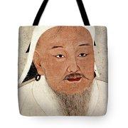 Genghis Khan (1162-1227) Tote Bag