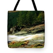 Glenmacnass Waterfall, Co Wicklow Tote Bag