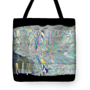 Icicle Cross Section Tote Bag