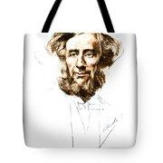 John Tyndall, Irish Physicist Tote Bag