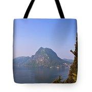 Lago Di Lugano Tote Bag