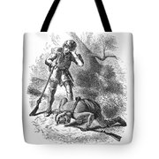 Last Of The Mohicans, 1872 Tote Bag