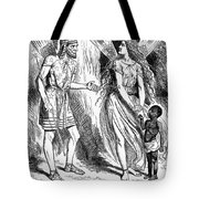 Lincoln Cartoon, 1862 Tote Bag