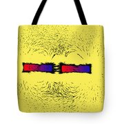Magnetic Attraction Tote Bag