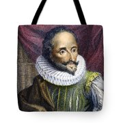 Miguel De Cervantes Tote Bag