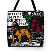 old British postage stamp Tote Bag
