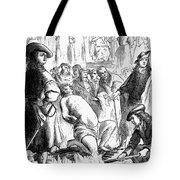 Persecution Of Waldenses Tote Bag