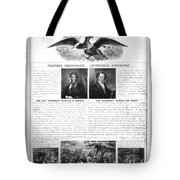 Presidential Campaign 1840 Tote Bag