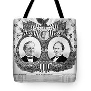 Presidential Campaign, 1876 Tote Bag