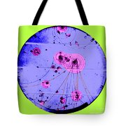 Proton-photon Collision Tote Bag