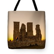 Reculver Towers Tote Bag