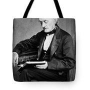 Richard Owen, English Paleontologist Tote Bag by Science Source